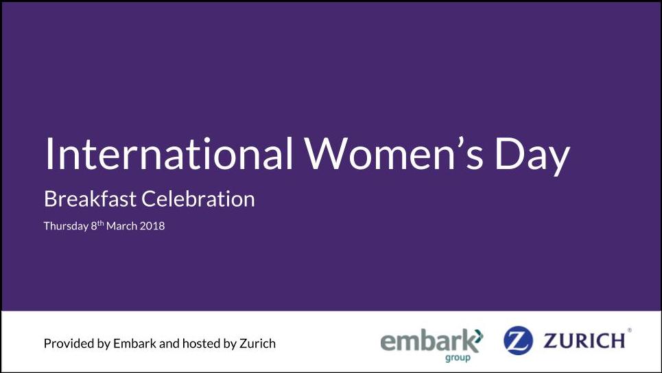 International Women's Day – Breakfast Celebration