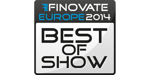 Finovate 2014 'Best Of Show' award