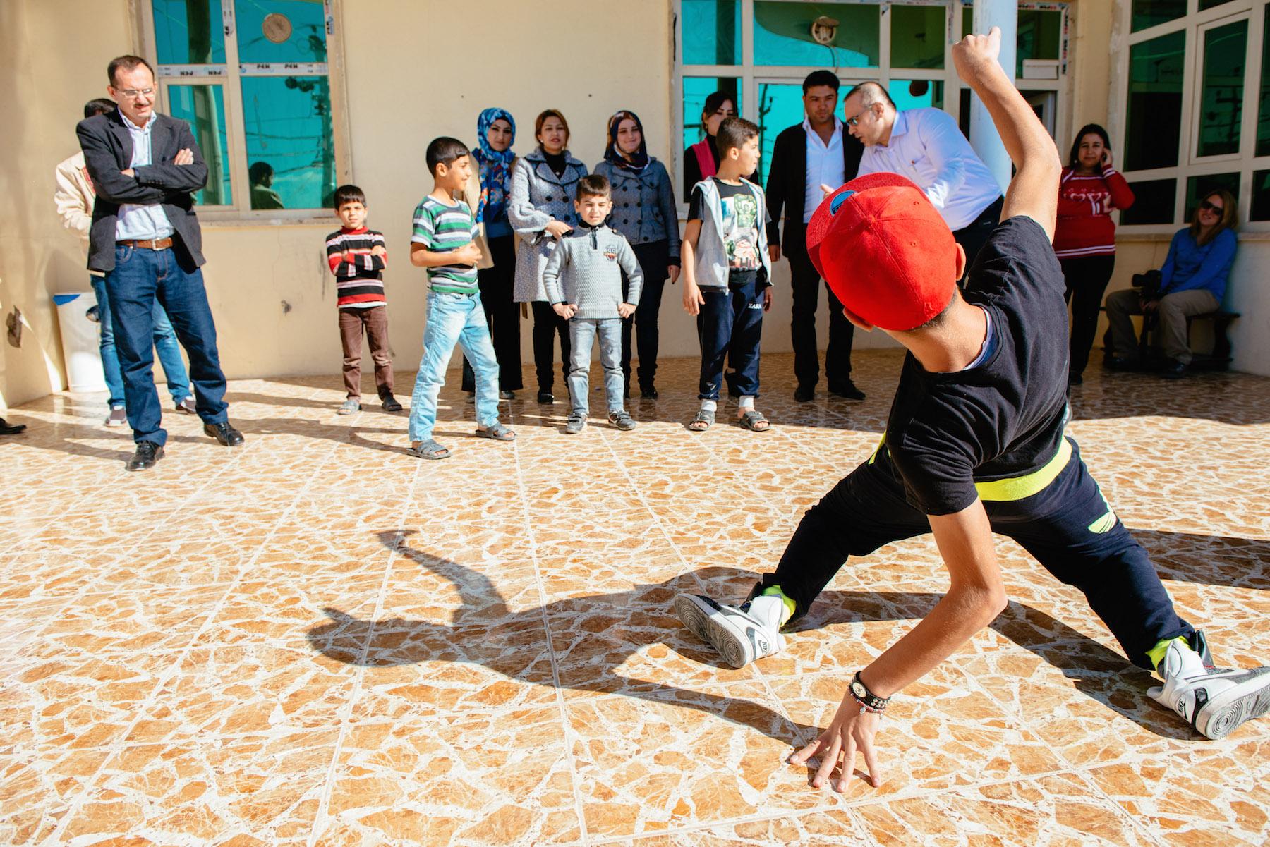 Teenage Iraqi hip-hop lover