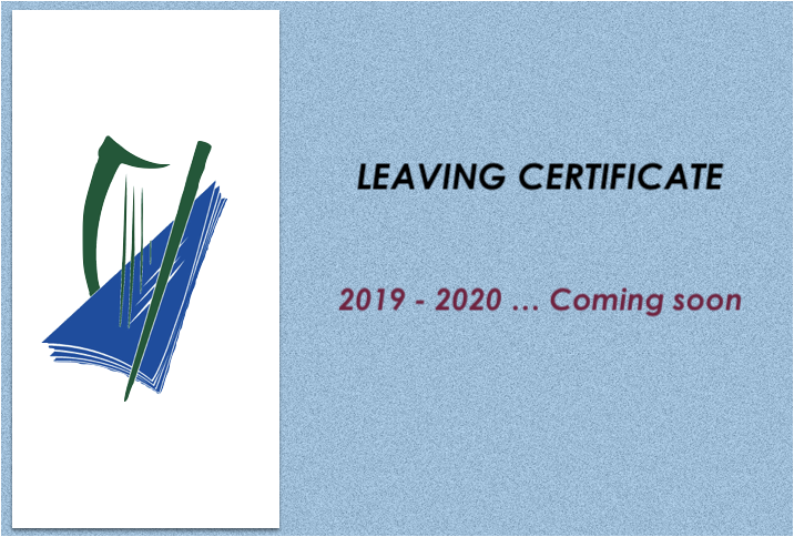 LeavCert Coming soon.png