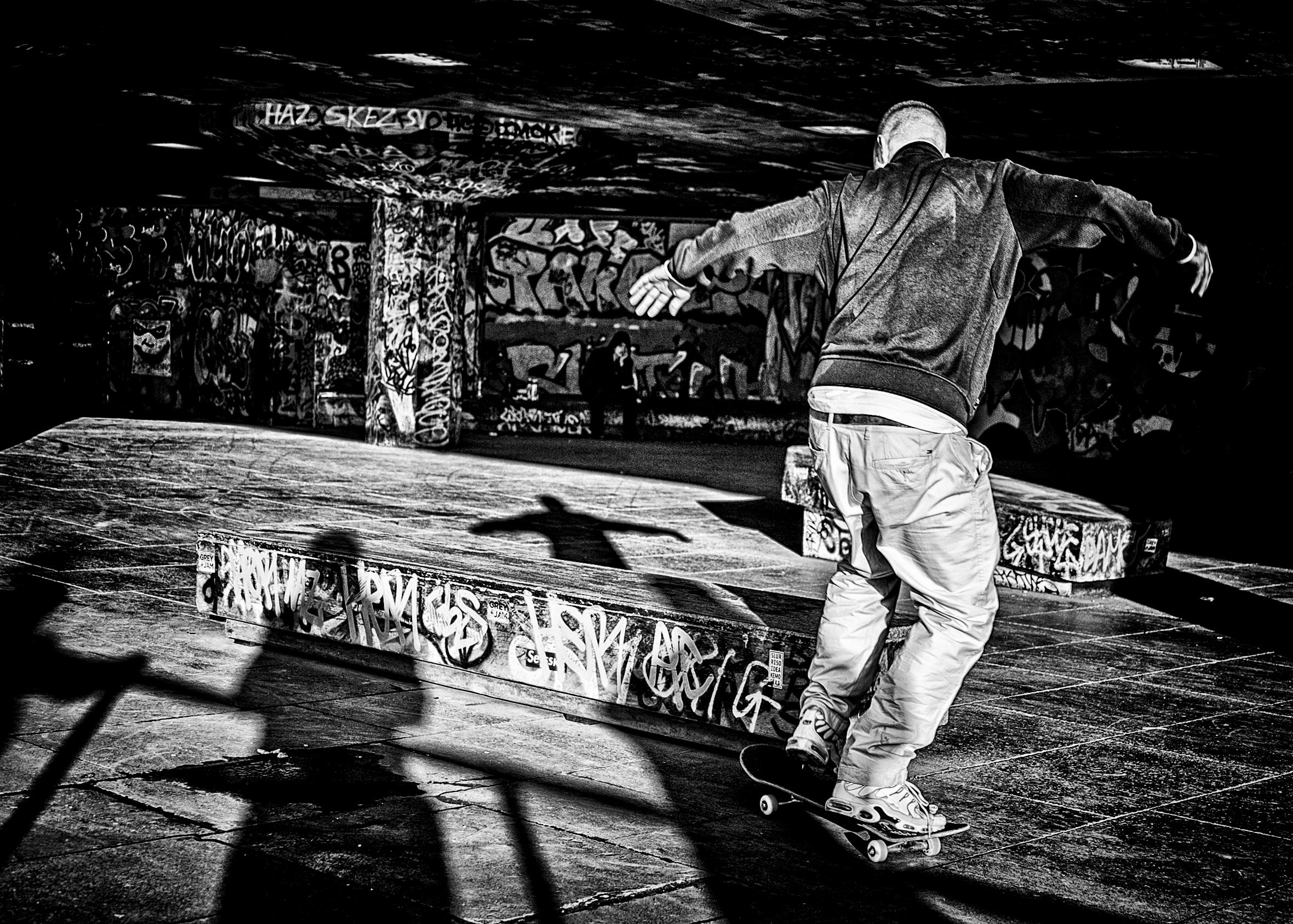 Christ the Skateboarder.