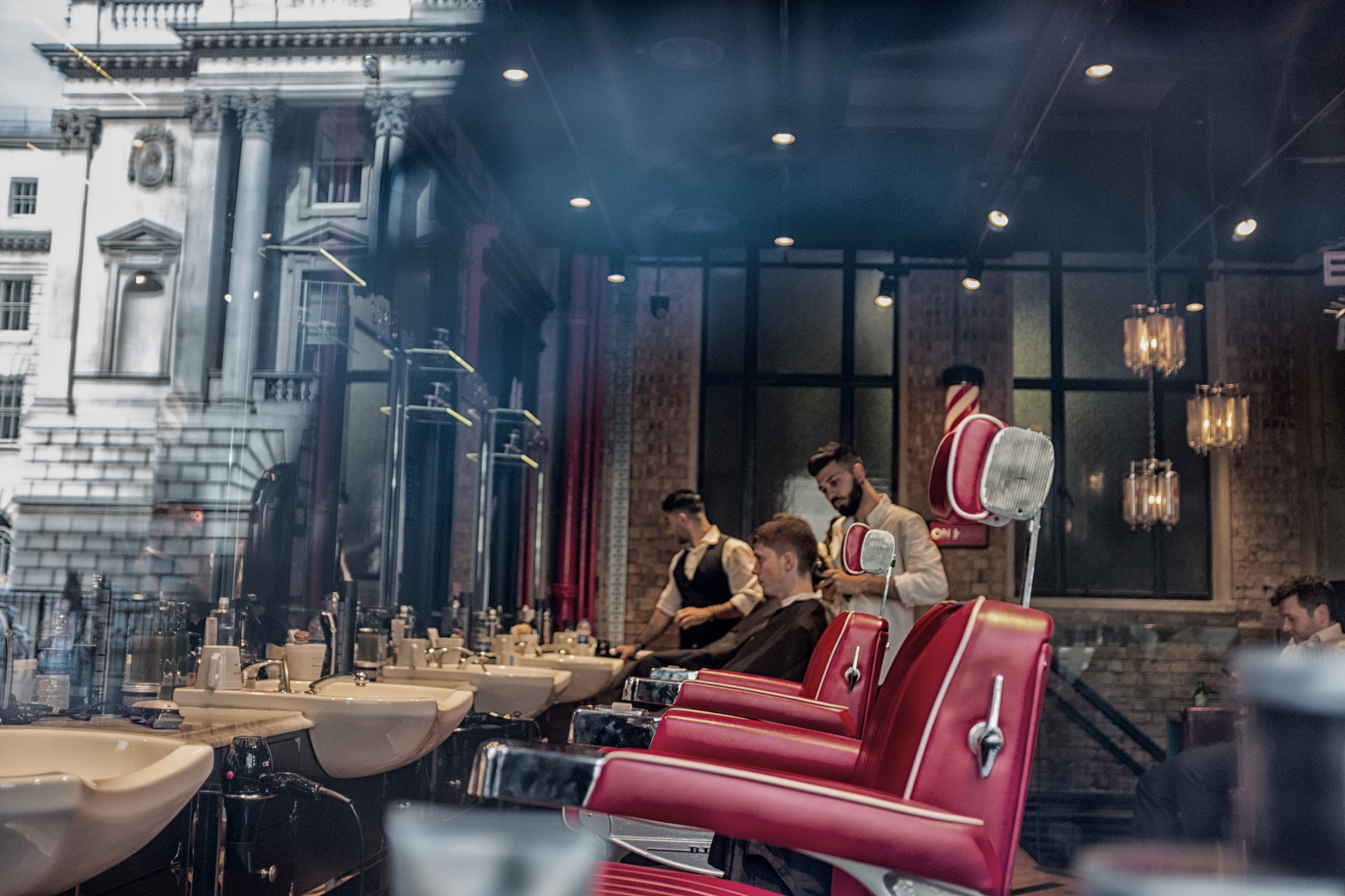 Barbershop Reflections.