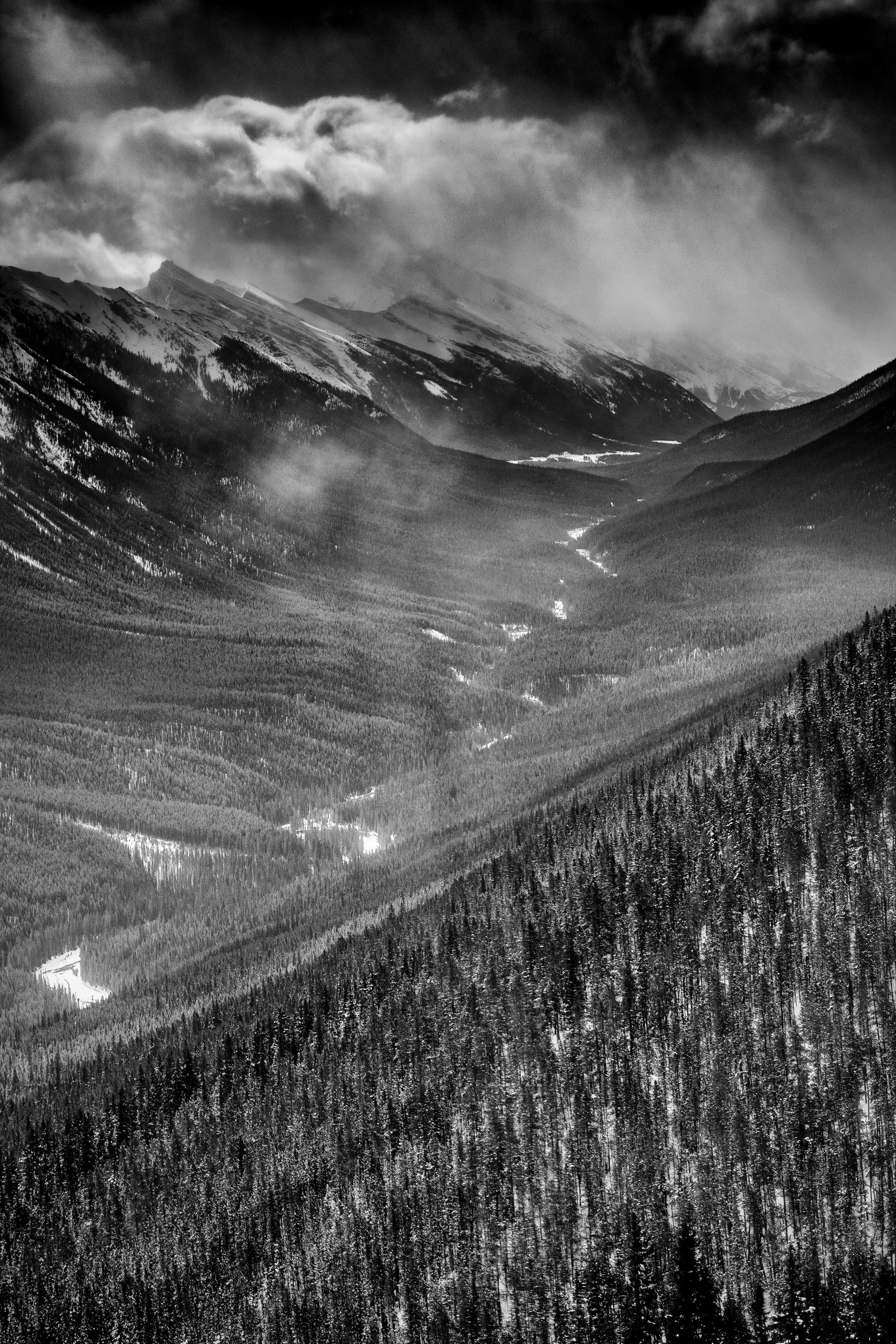 From Sulphur Mountain.