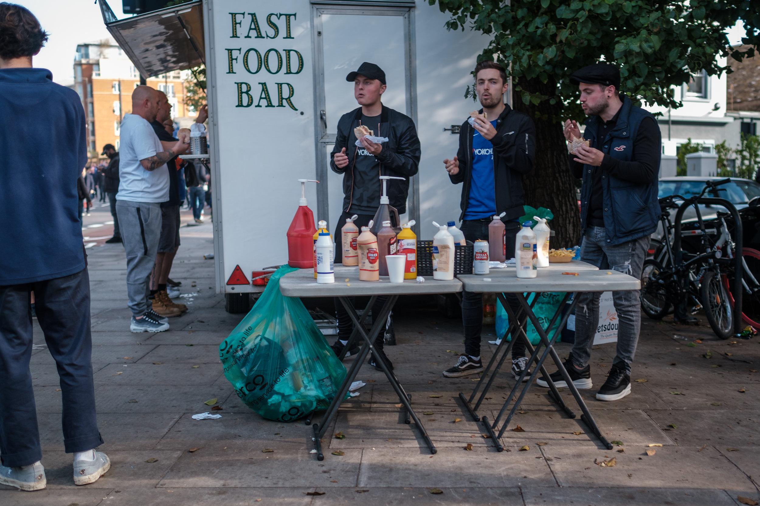 The Fast Food Three