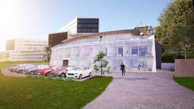 Dato: 09.11.2015    Fornebu blir bilby – Volvo, Land Rover, Jaguar, Fiat og Chrysler er på vei