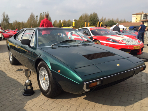 Family Sports Car Ferrari 308 Dino GT