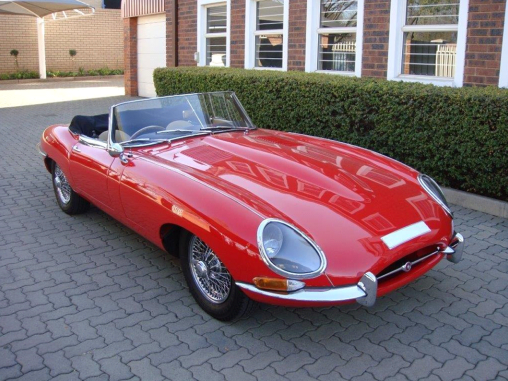 British Heritage voted most Beautiful Car in the World E-Type Jaguar Series 1