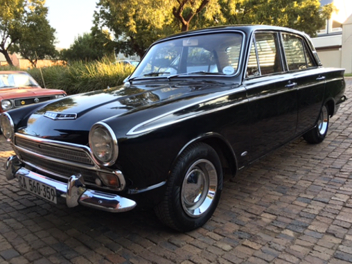 Southern Africa Old favourite Ford Cortina MK1 GT
