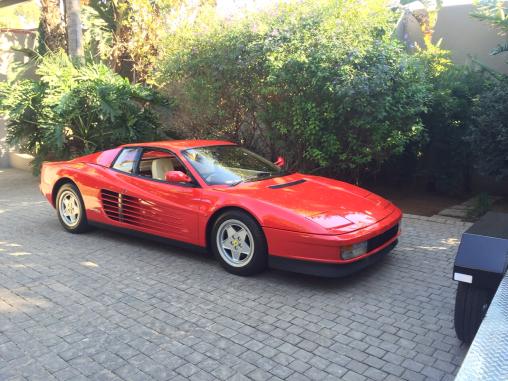 Italian Muscle Ferrari Testarossa