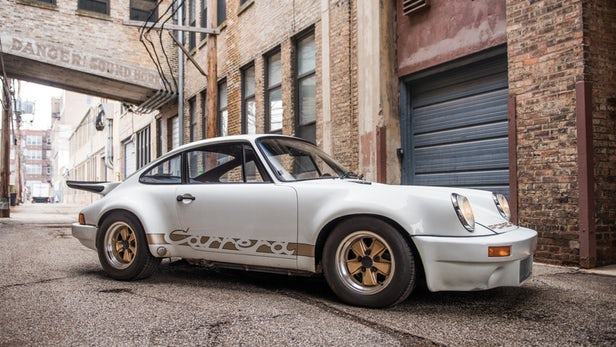 This 1974 Porsche 911 Carrera RS 3.0 sold well above the estimate of $900,000 to $1,100,000 to fetch $1,375,000, which is a record at auction for the model. | $1,375,000 | Official Auction Page(Credit: RM-Sothebys)