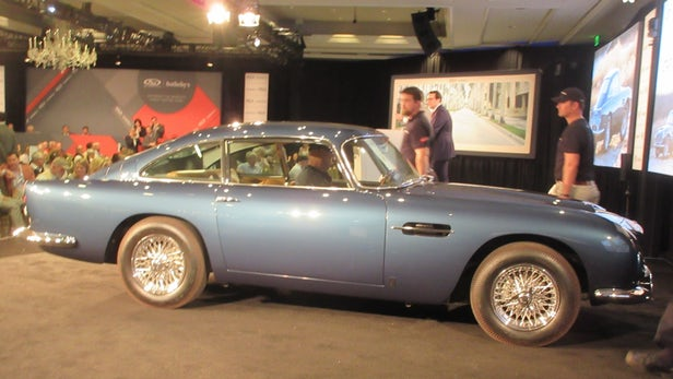 1965 Aston Martin DB5 | Sold for $990,000 | Official Auction Page(Credit: Somer Hooker)