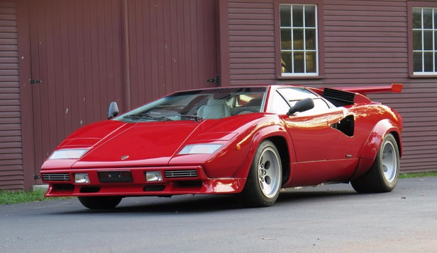 This Euro-specification 1986 Lamborghini Countach 5000S sold for $335,500 | Official Auction Page(Credit: Bonhams)