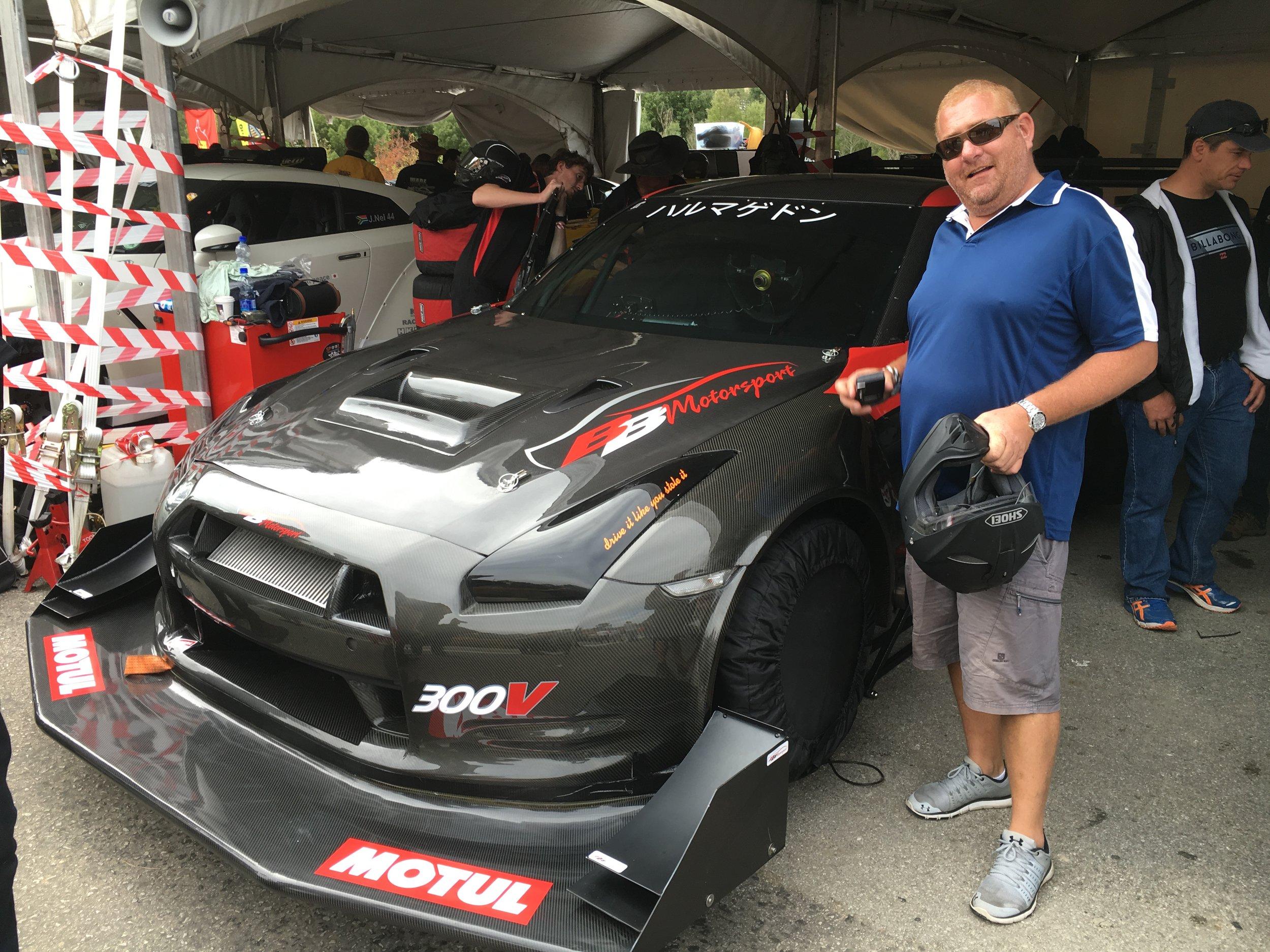Modified Saloon Car Champion : Willem Baard Nissan GTR R35