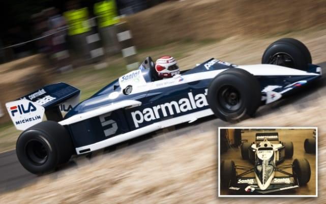 · 1983 Brabham BMW BT52 World Championship Car (T15)