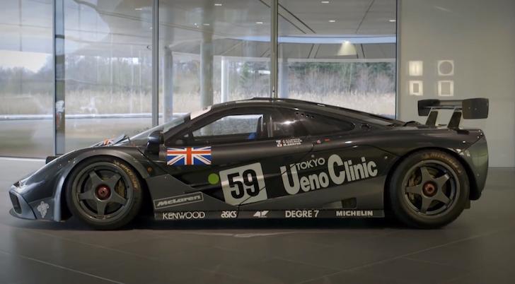 1995 McLaren F1 GTR Le Mans Winning Car
