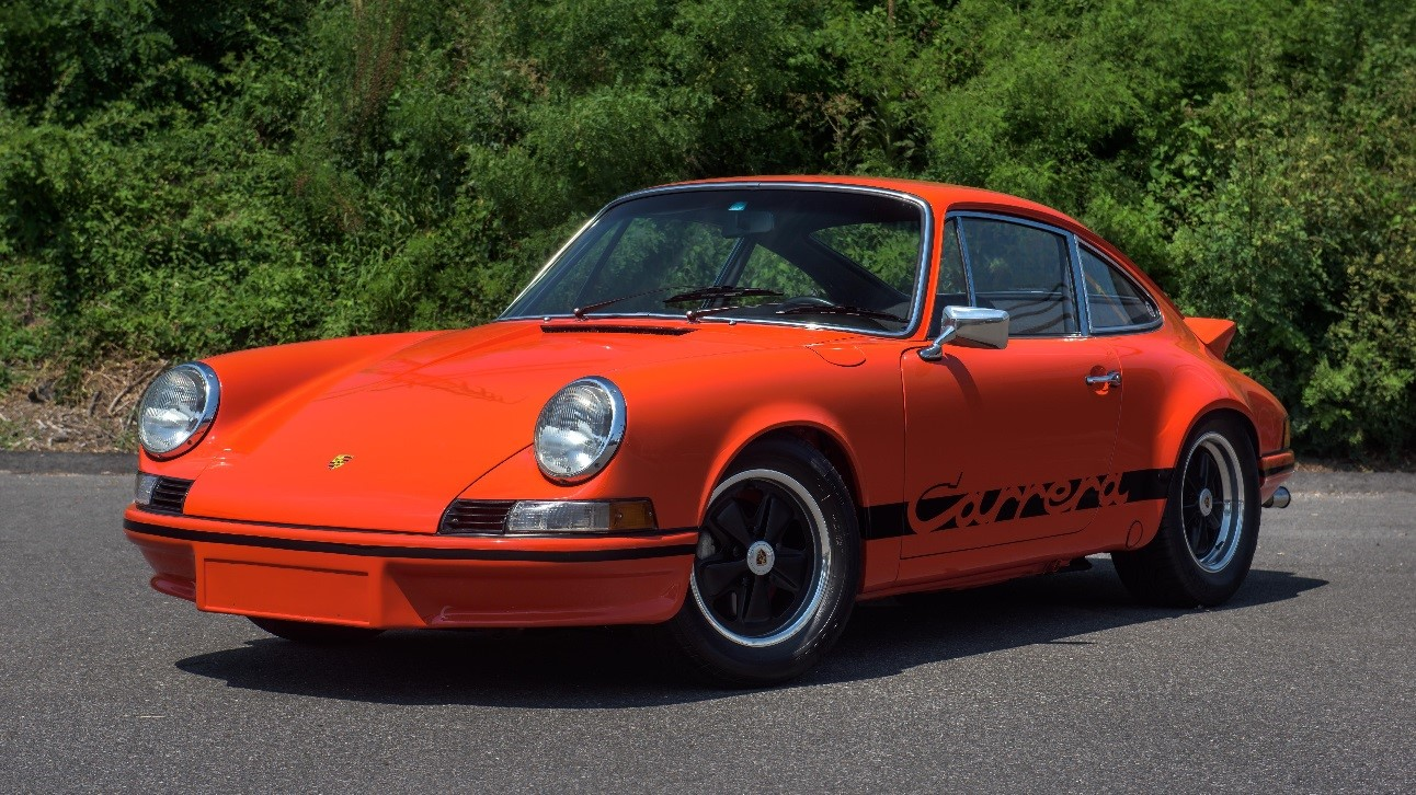1973 Porsche 911 RS Lightweight Estimate R19,5 million - R21 million
