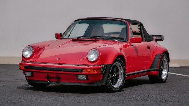 1989 PORSCHE 911 TURBO CABRIOLET ESTIMATE R4 MILLION – R5, 2 MILLION