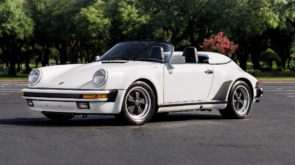 1989 Porsche 911 Speedster 1 of 823 delivered to the United States Estimate R3,0 Million - R3,75 million