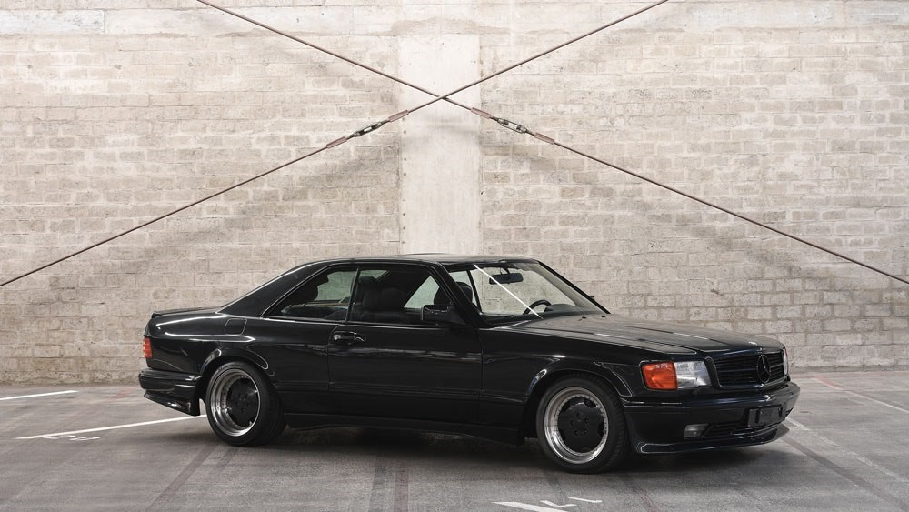 RM Sotheby's :  1989 Mercedes-Benz 560 SEC AMG 6.0 Widebody