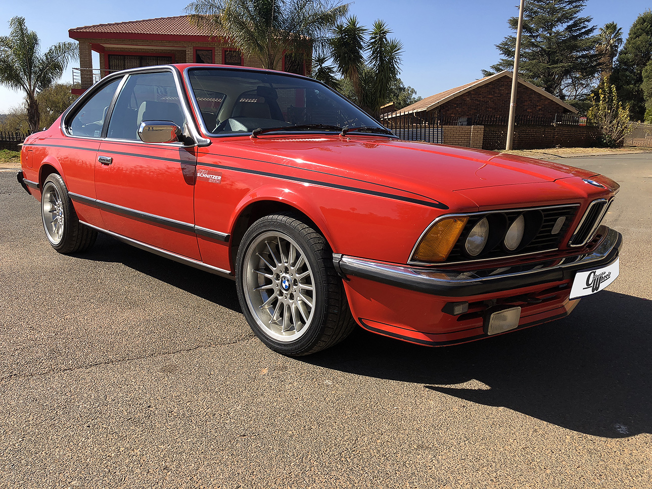 BMW E24 635CSI 1981 Model — Collectible Wheels