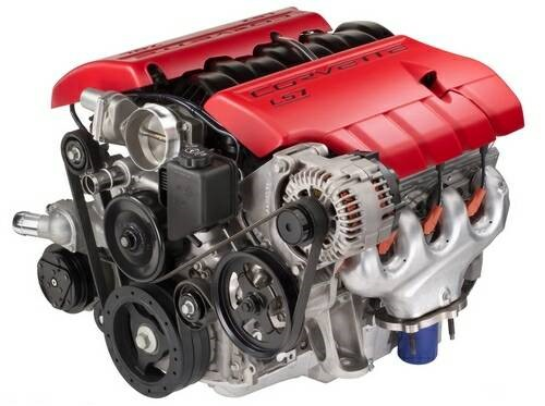 The 7.0 Litre, 427 Cubic Inch Engine delivers 505 horsepower and 475 lb/ft of torque. (image courtesy of GM Media.)