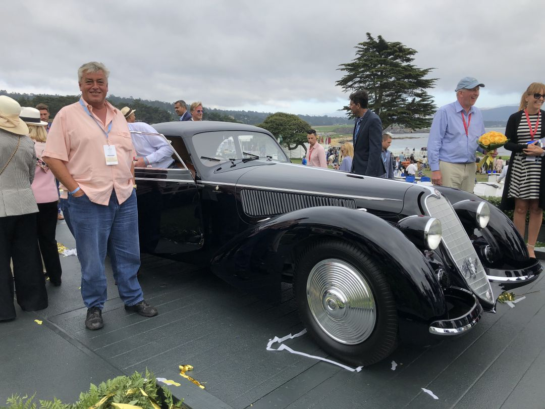 Alfa Romeo 8C Overall Winner Pebble Beach Concourse 2018