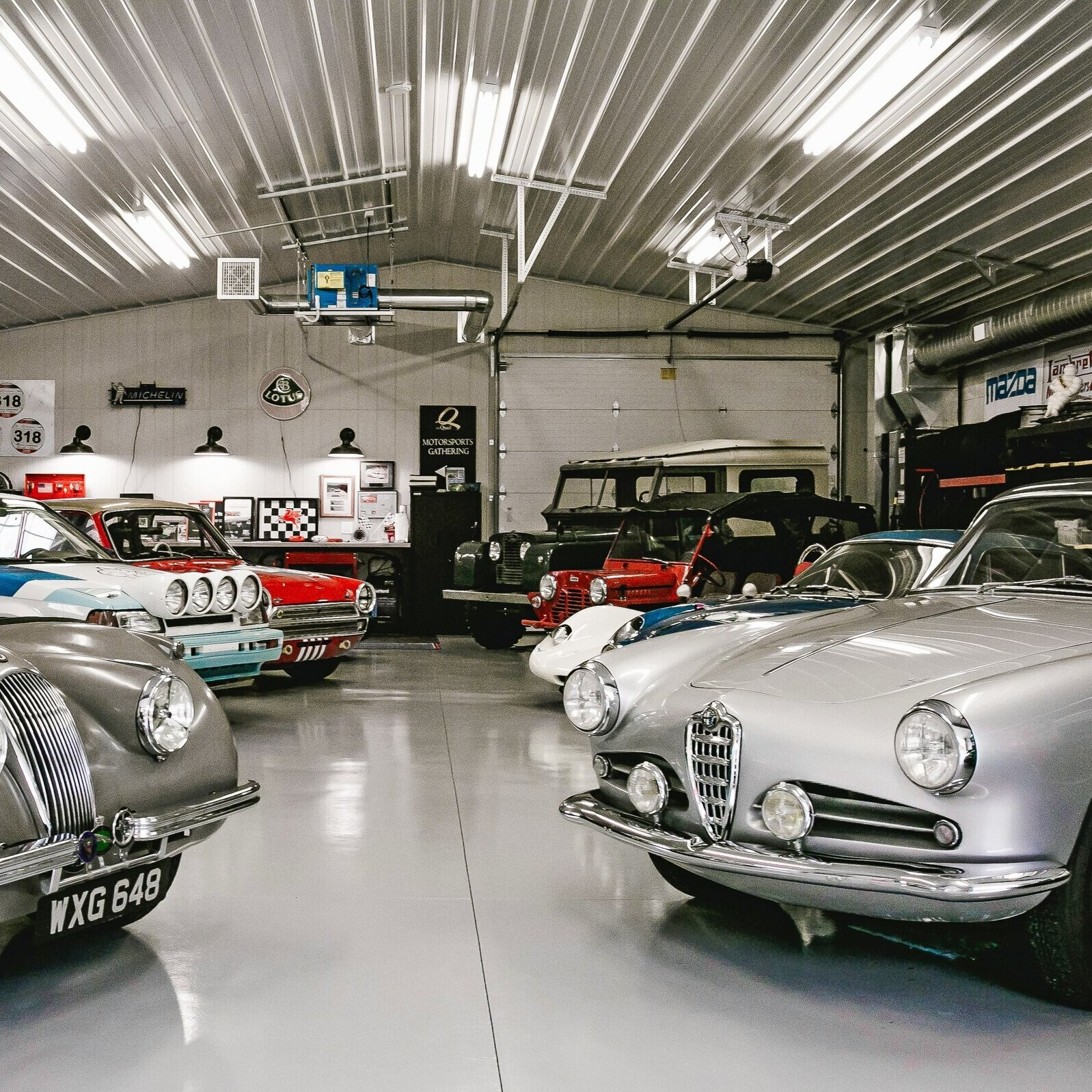 Sale of Complete Collections:  We can broker the sale of any complete collection whether they are motorcycle, motor vehicles or barn finds.