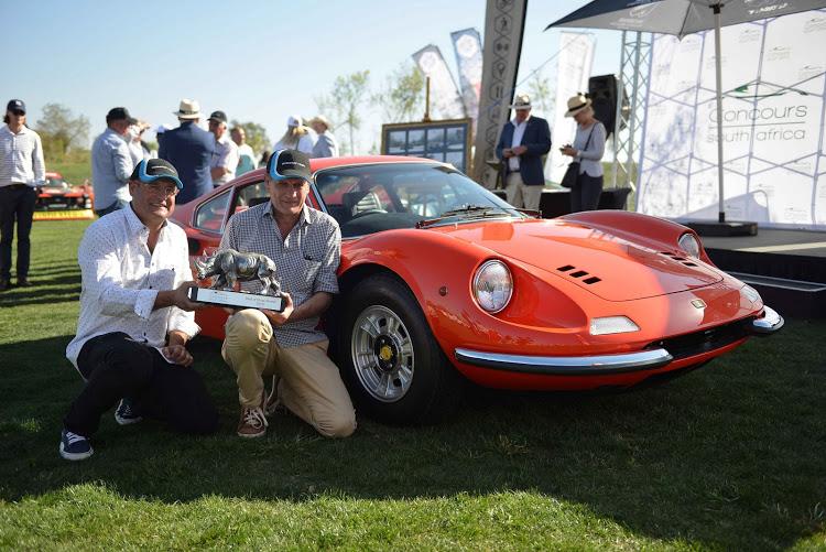 Vic and Gerhard Camper Overall Winners 2019 Ferrari Dino