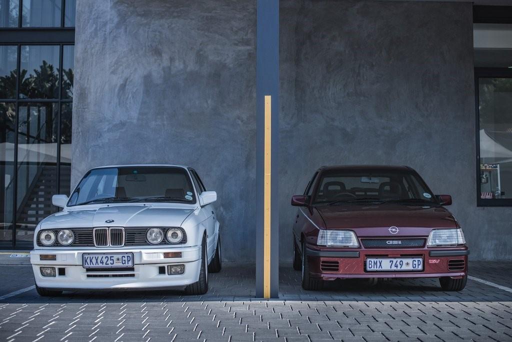 """Old foes - BMW (E30) 325iS """"Gusheshe"""" meets Opel Kadett 2.0 GSi """"Superboss"""""""