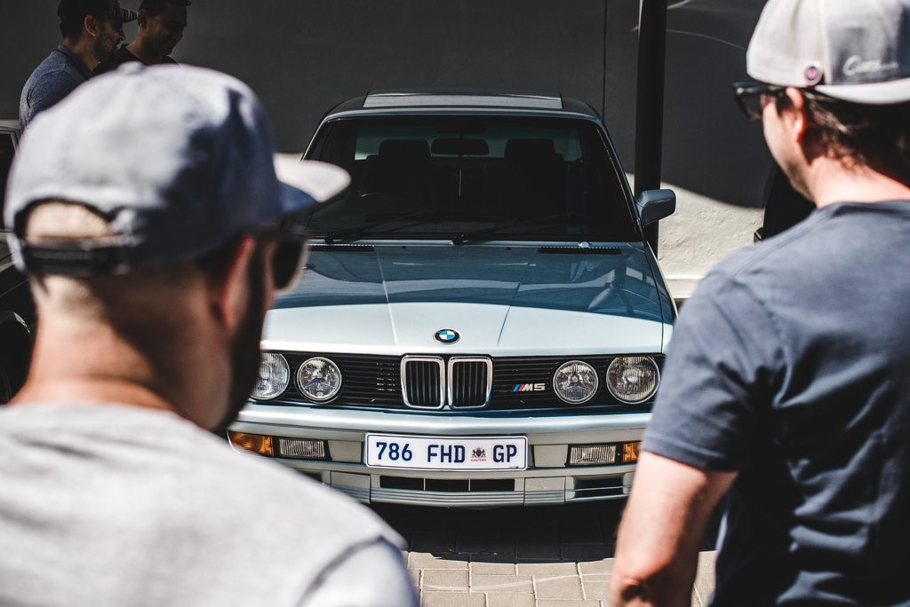 Centre of attention - this BMW (E28) M5 is immaculate.