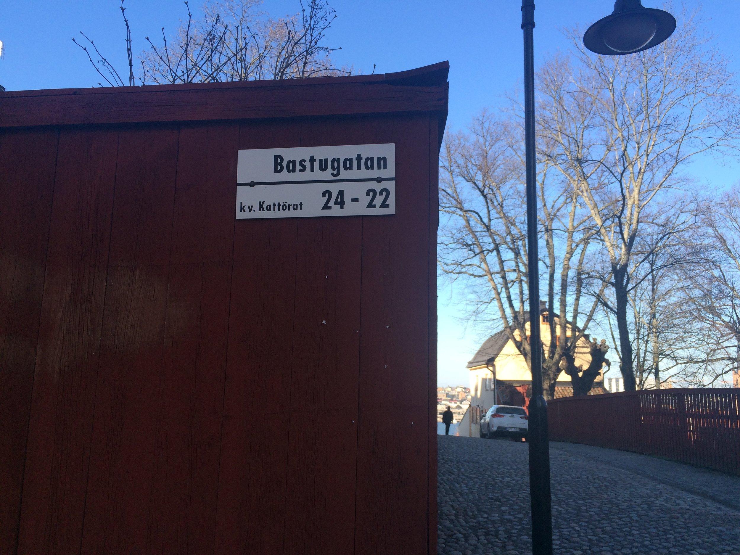 As a Finn I love that name! (Translation Sauna street).