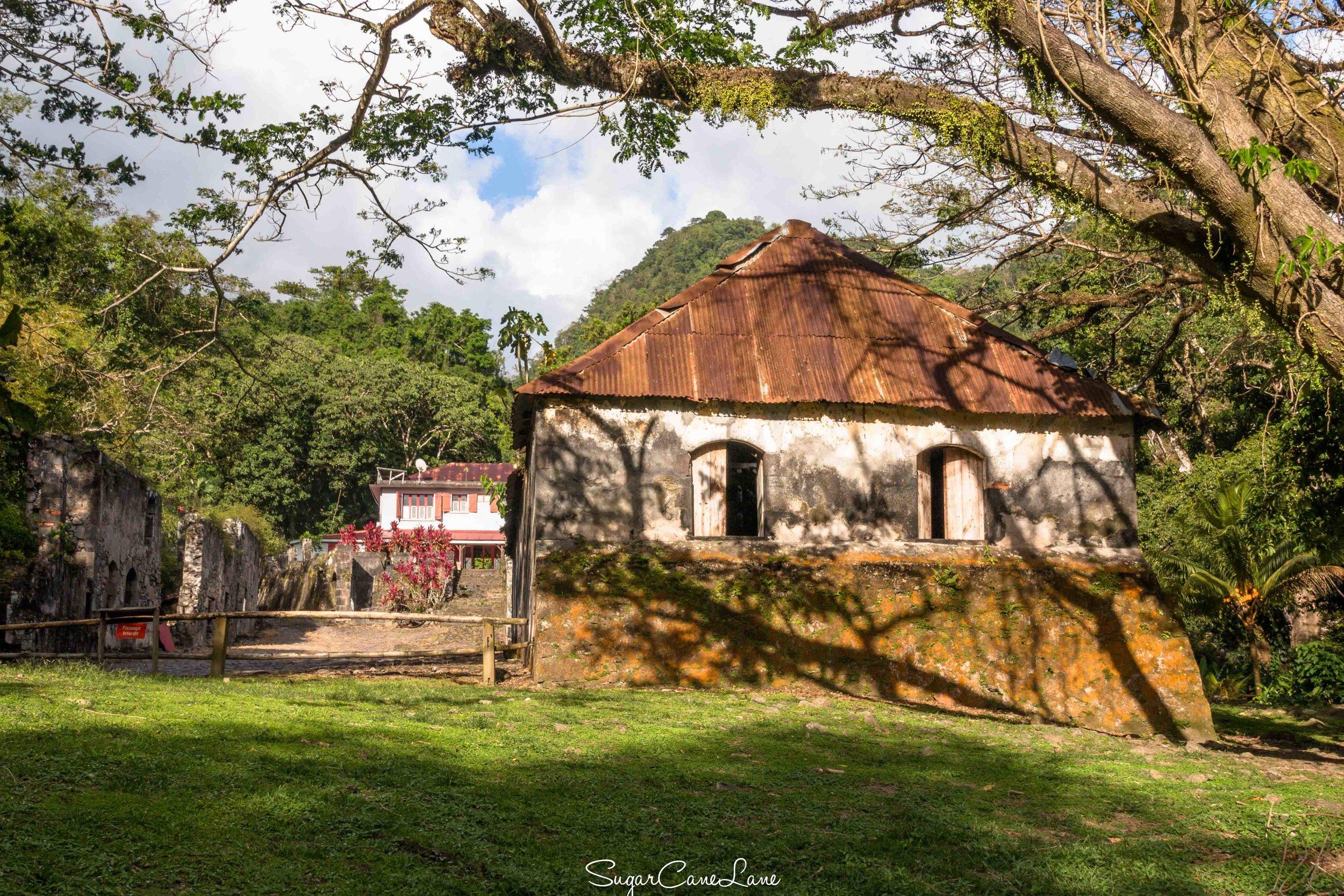 Martinique, habitation Ceron : la maison de maitre