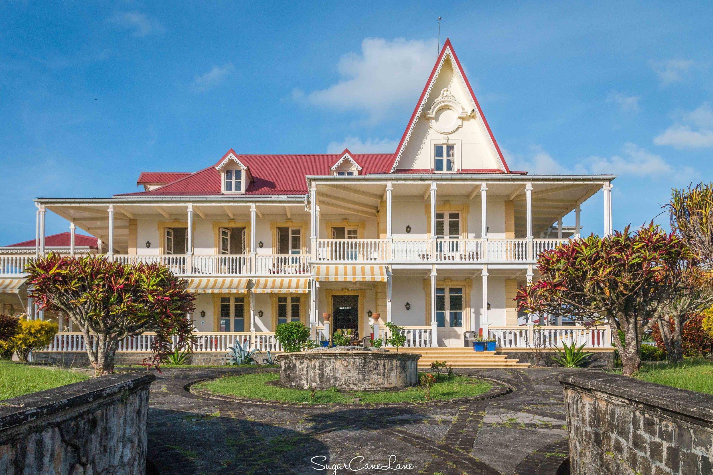 Domaine Saint-Aubin, Martinique