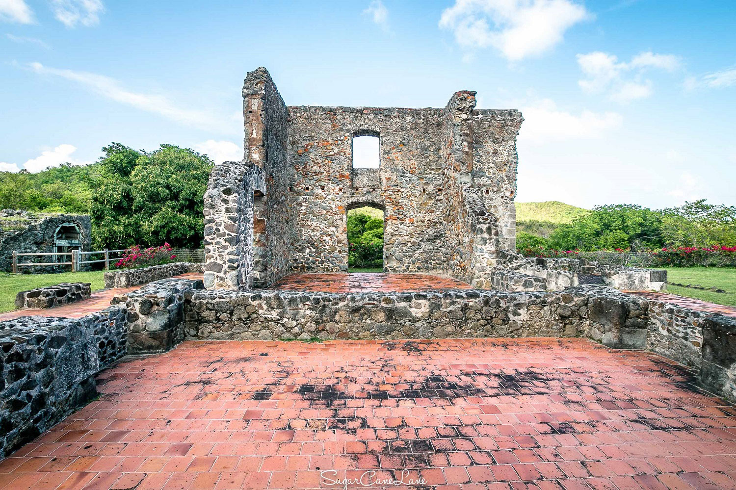 Martinique, chateau dubuc