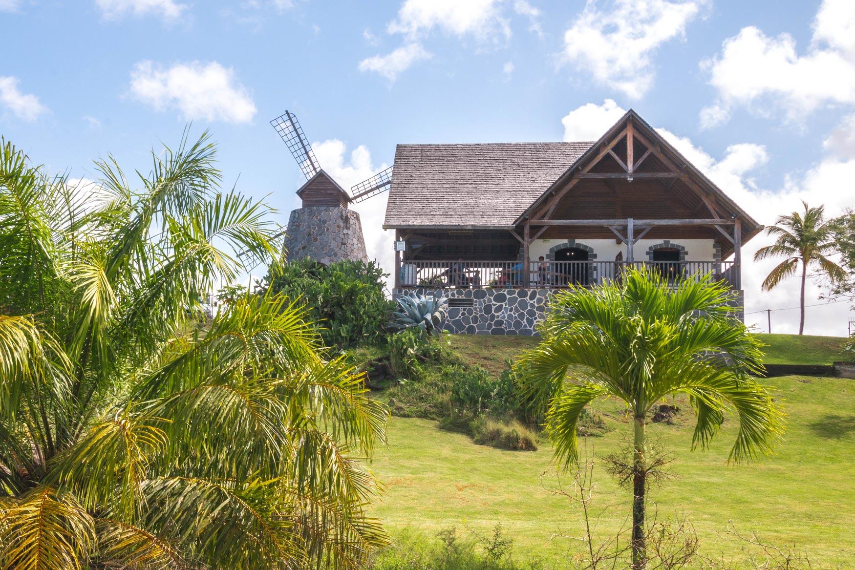 Martinique, plantation trois rivieres