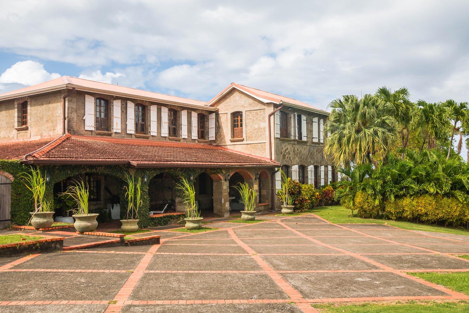 Martinique, habitation du Simon