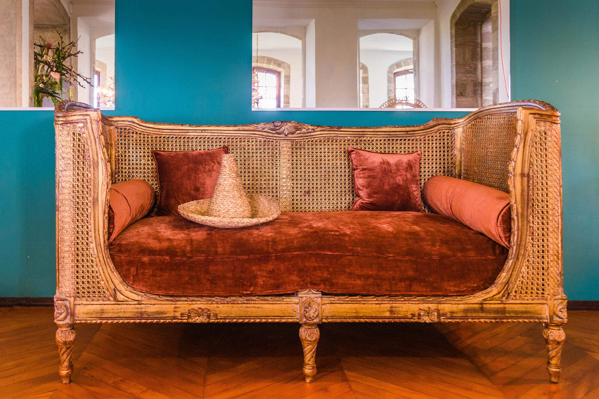 martinique, habitation du simon : salle à manger