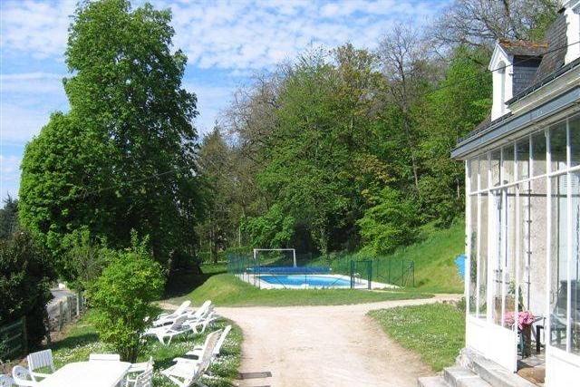 gite Manoir des Badinons piscine