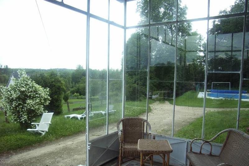 Manoir des Badinons veranda