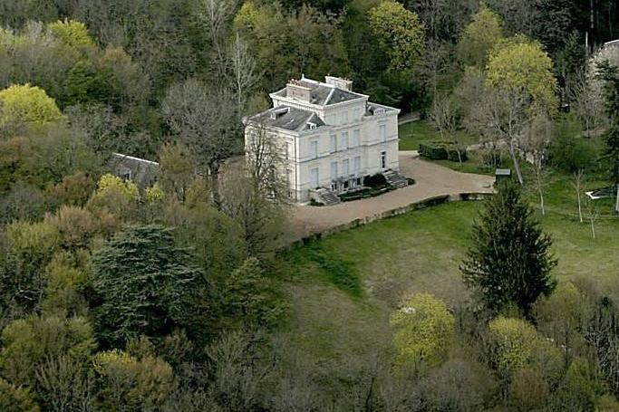 Château de Thorigny vue