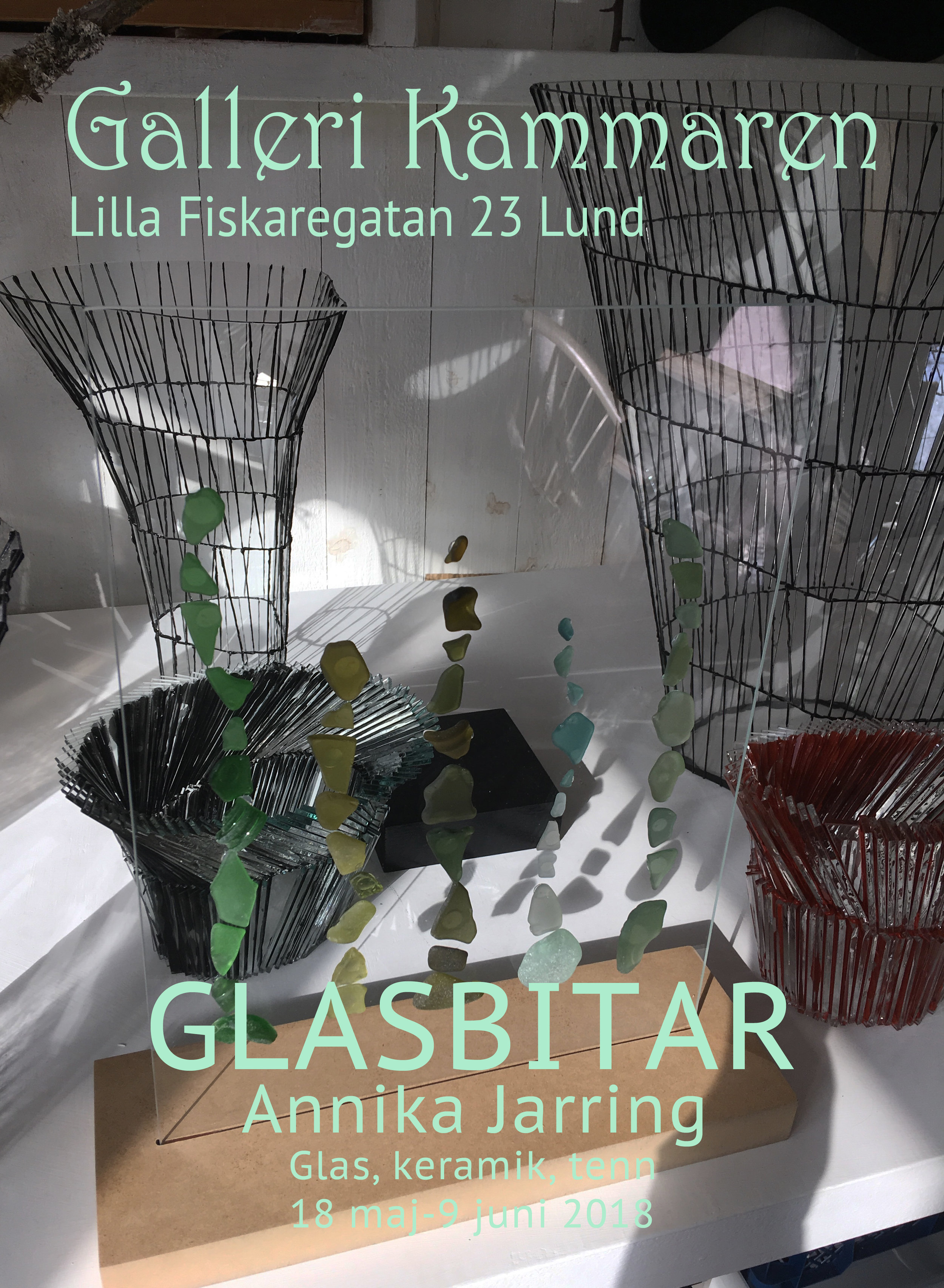 Annika Jarring - Glas, keramik, tenn