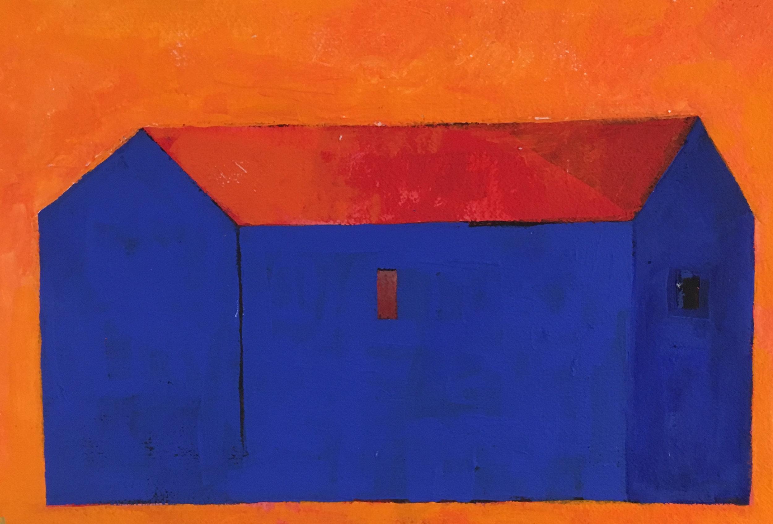Ia, blått hus orange bakgrund.jpg