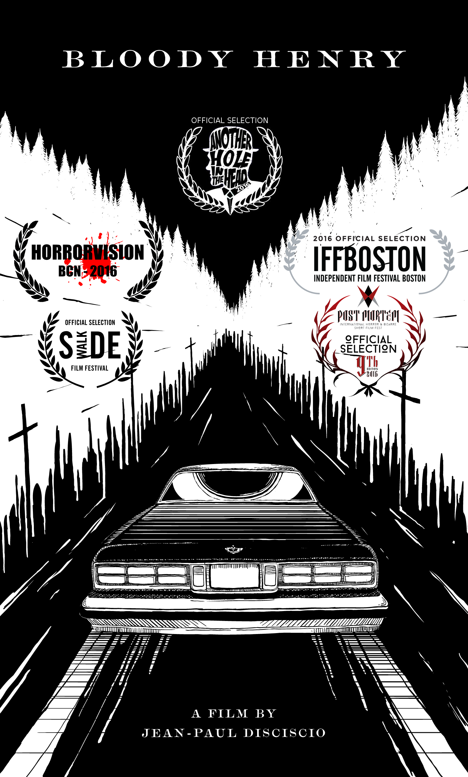 Currently touring drive-in movie theaters and film festivals internationally. Contact us for a private link to view the film.