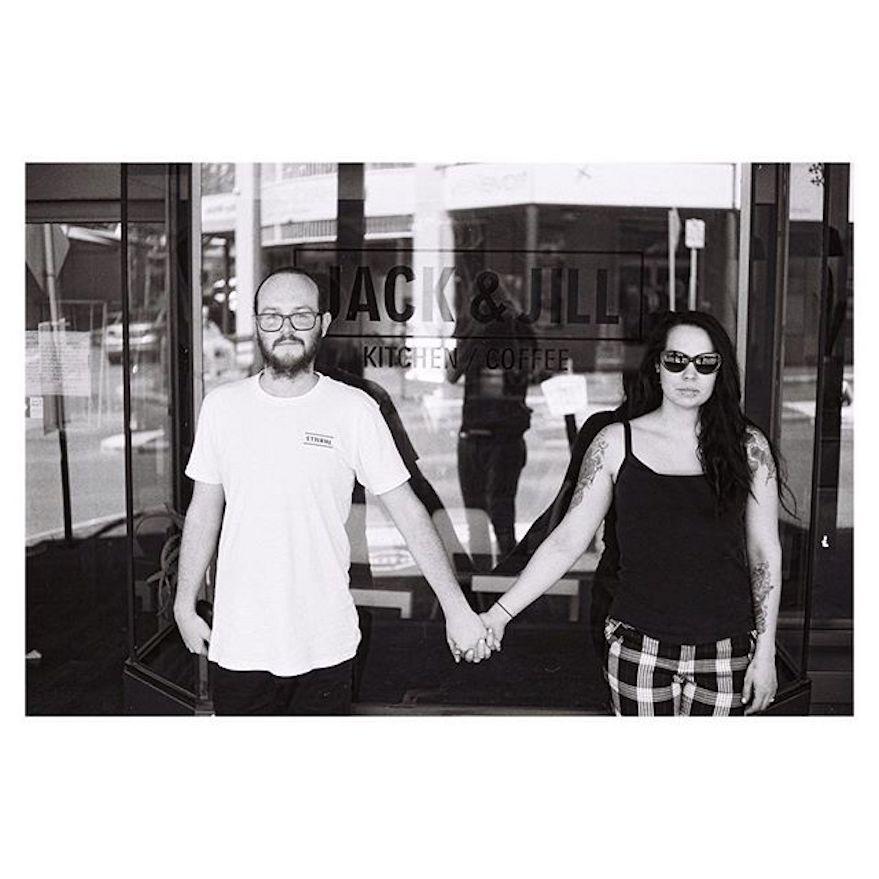 Just Married: Scott & Jess North. Photo by Ryan Hutt