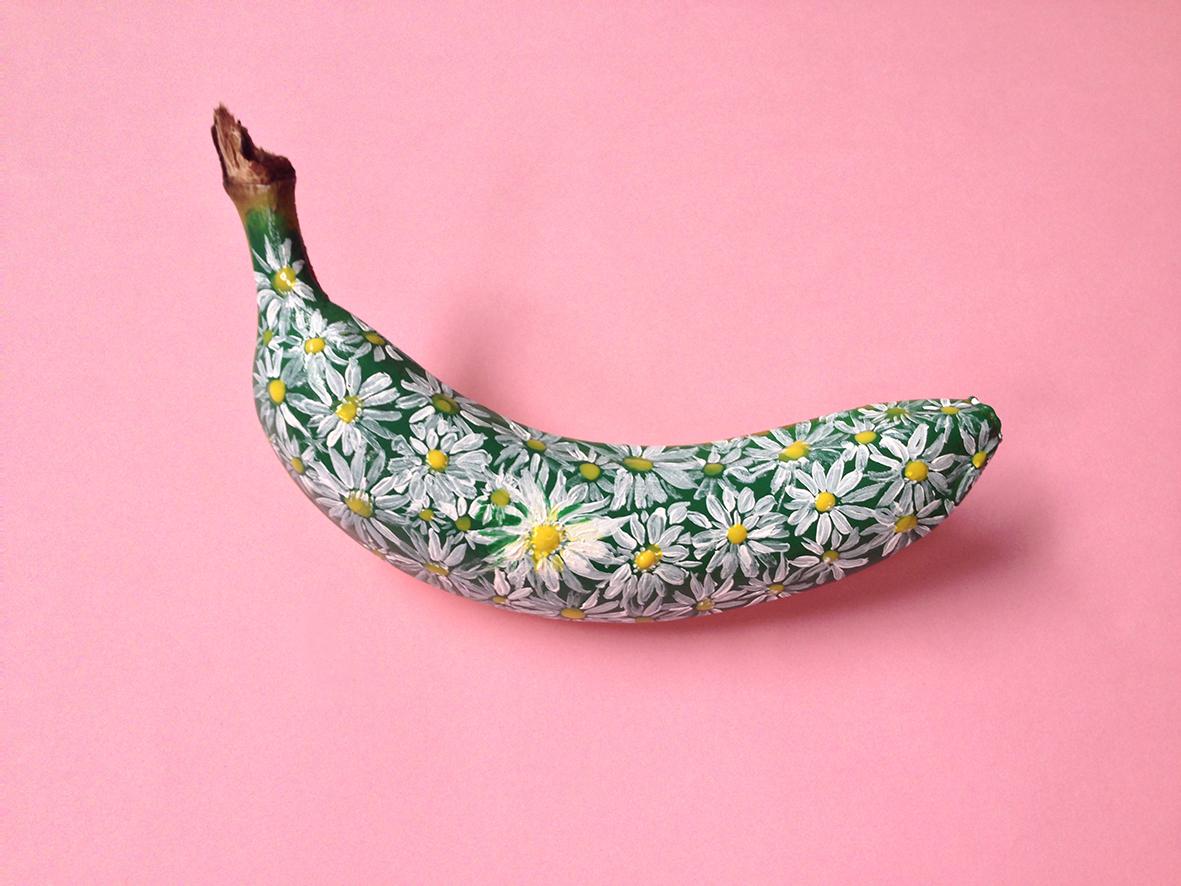 Banana graffiti by Marta Grossi, via behance.net