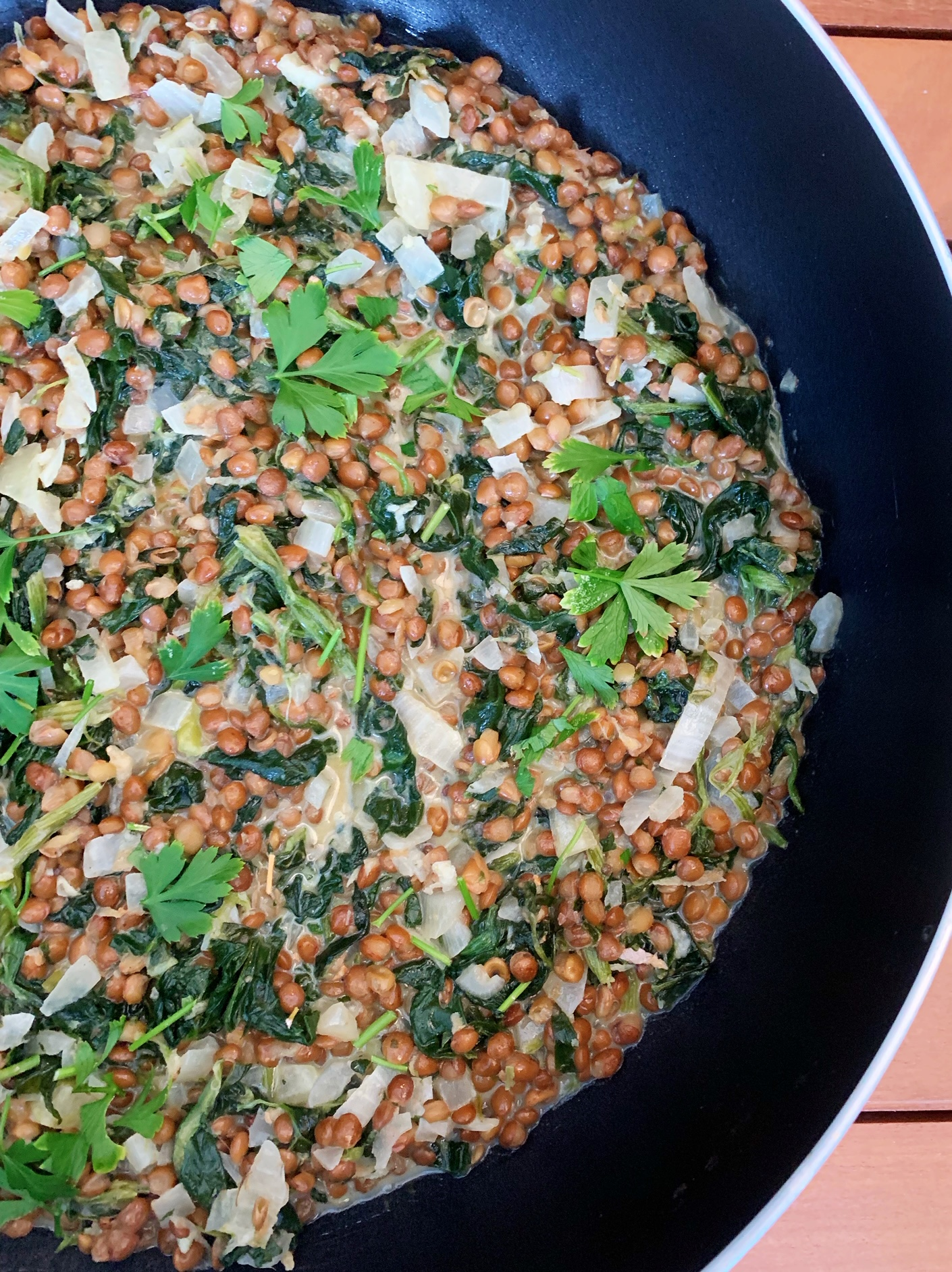 Lucy's Coconut, Spinach and Lentil Hot Pot