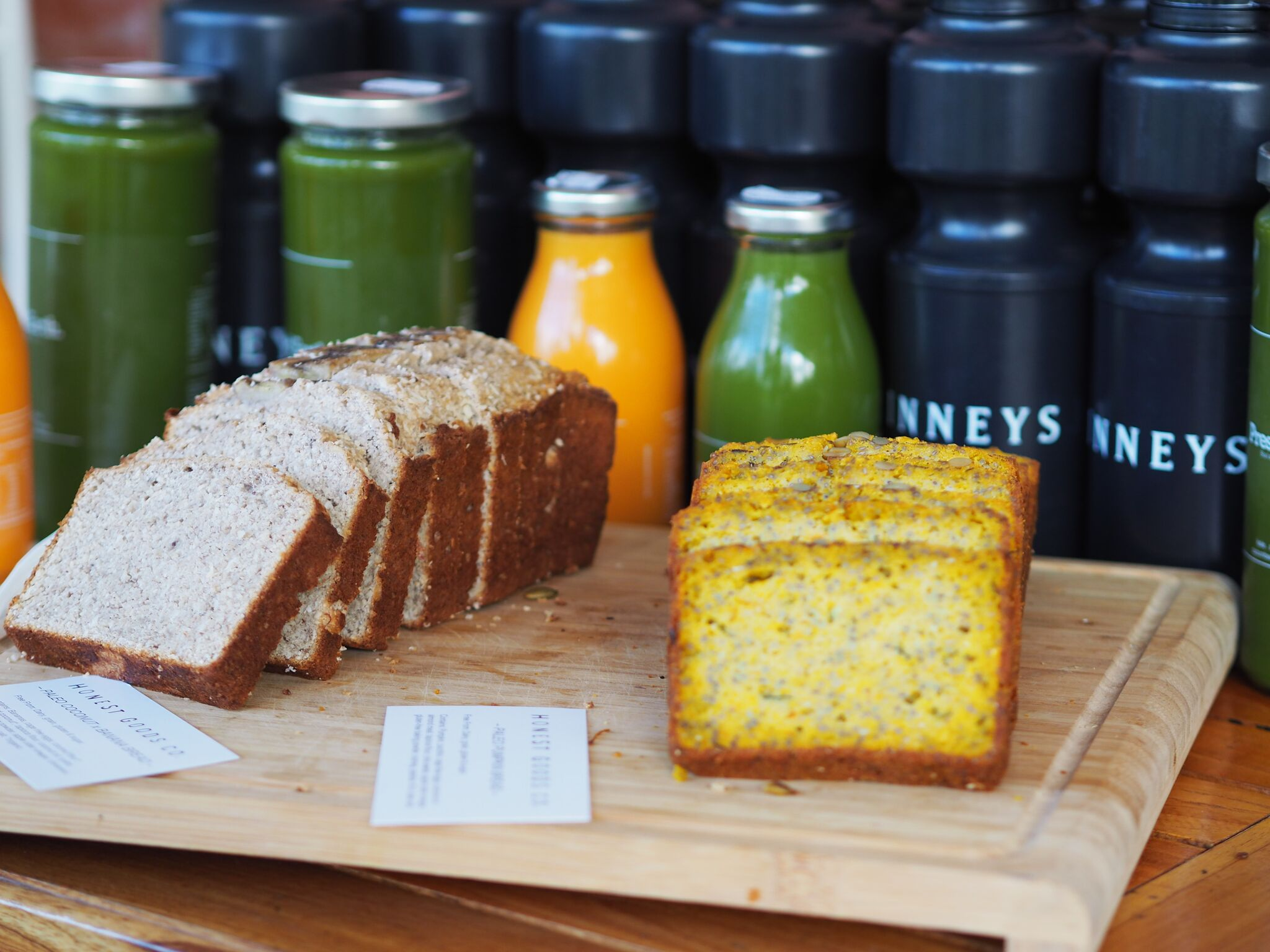 Refuelling at EOFY Bootcamp with Honest Goods and Pressed Earth. Image courtesy of Caroline Sandover
