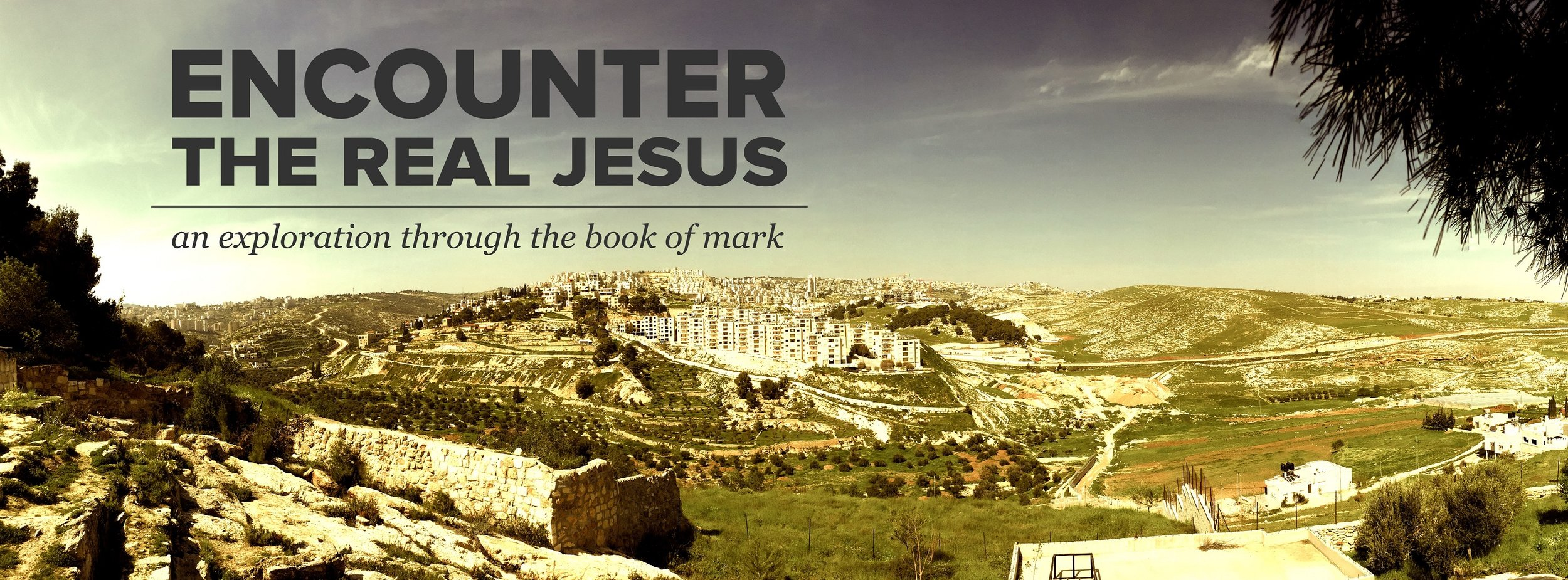 Click the link for audio from our Fall 2015 teaching series in the book of Mark.