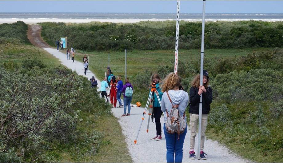 Ieder jaar gaat de 10e klas van de Vrijeschool Zutphen op landmeetkamp.