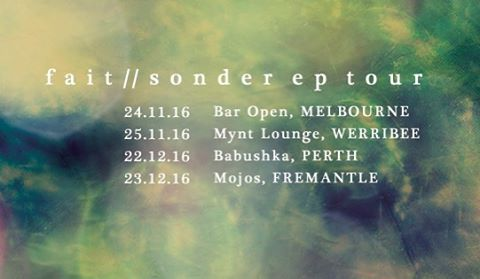 WA shows just announced! ✨ #fait #Sonder #wa #babushka #mojos